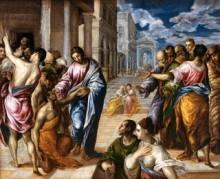 Jesus healing Sick